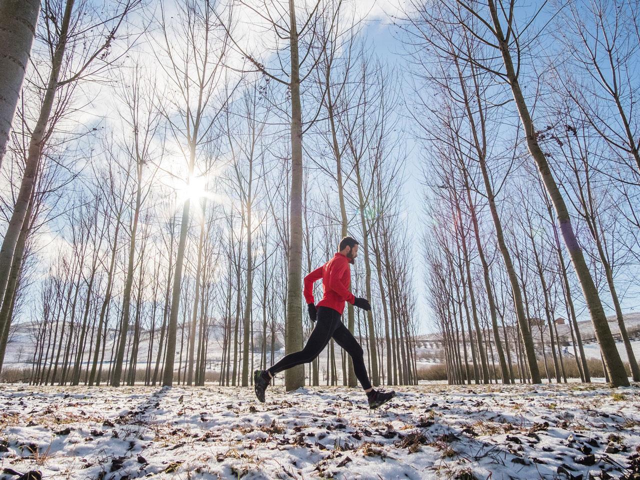 Як бігати взимку