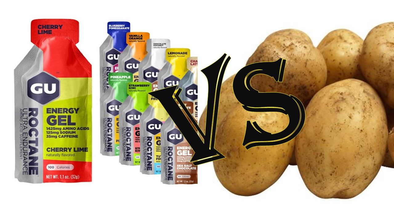Спортивний гель чи звичайне картопляне пюре? Що ефективніше діє?