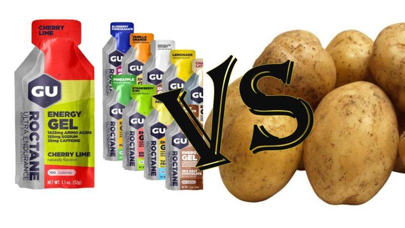 Спортивный гель или обычный картофель? Что эффективнее?